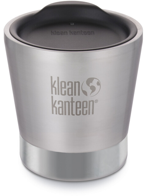 Klean Kanteen Tumbler Vacuum Insulated 237ml Brushed Stainless